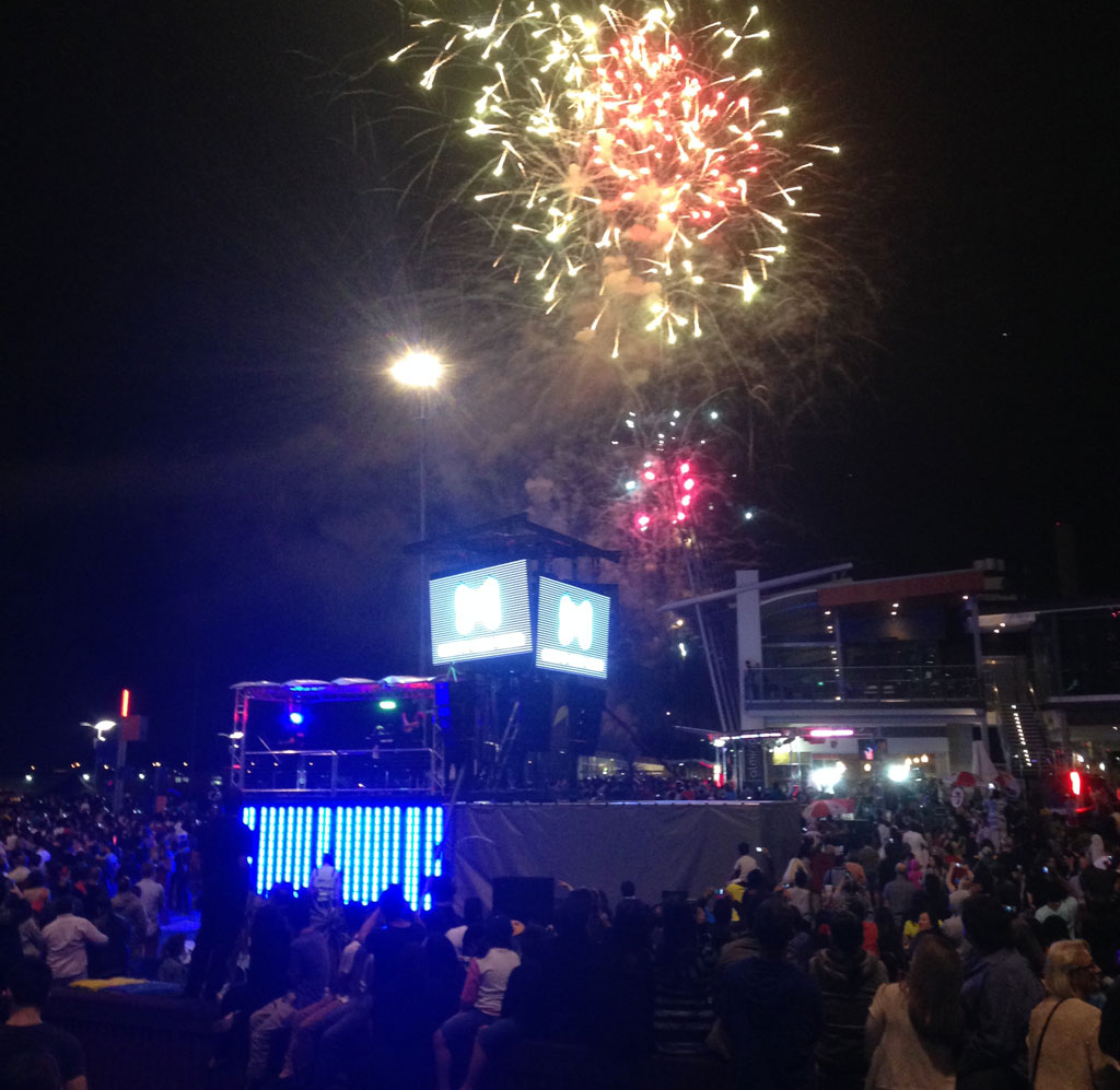 Melbourne rings in the New Year with SAE Audio